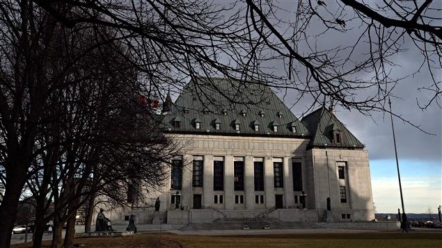 La Corte Suprema de Canadá en Ottawa.