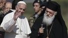 12 réfugiés syriens quittent Lesbos en compagnie du pape