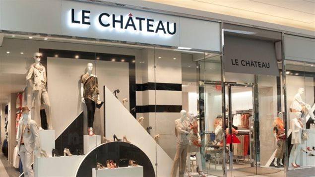 Le Château prévoit fermer 40 magasins de plus à travers le Canada au cours des trois prochaines années, dans le cadre de ses efforts visant à redresser ses activités déficitaires.