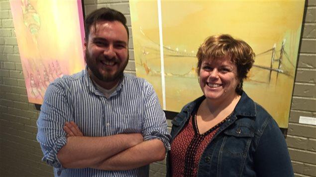 Christian Pelletier et Geneviève Pineault, finalistes au Prix des arts de la mairie de Sudbury