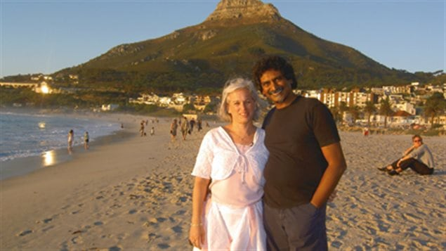 Lucie Pagé et Jay Naidoo