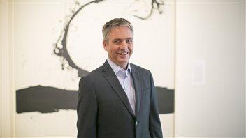 Stephan Jost, directeur général du Musée des beaux-arts de l'Ontario.