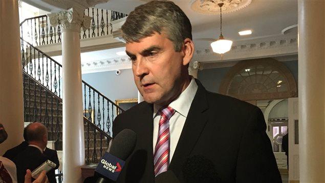 Le premier ministre de la Nouvelle-Écose, Stephen McNeil.