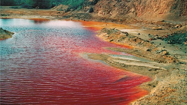 copper mining waste