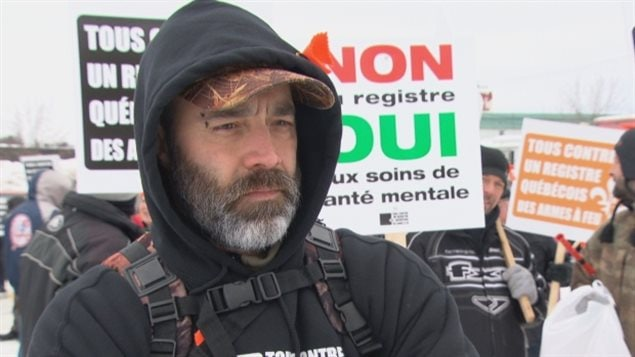 Feb 27, 2016:Patrick Rochon was one of dozens of protesters who gathered outside the office of the Quebec minister of justice in Maniwaki to oppose a proposed provincial long-gun registry. During public consultation into the propsed bill, Quebec Liberal Minister of security labelle those peacefully opposed to the registry as *anarchistes*