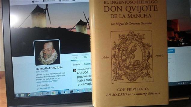 La cuenta Twitter QuijoteEn17000Tuits