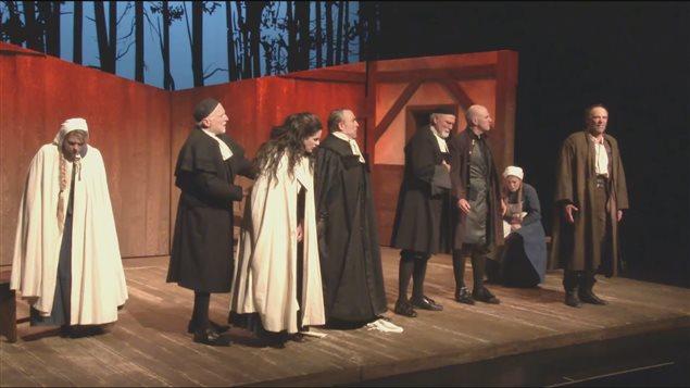 La pièce de théâtre Les Sorcières de Salem