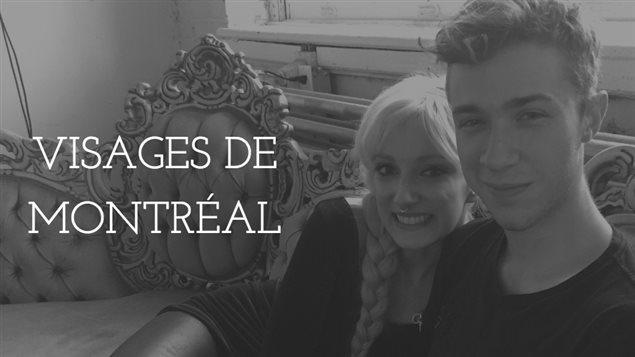 Keylan Giroux, 20 ans, et sa blonde Yasmin Volkhardt, 25 ans, dans leur appartement de la rue Ontario