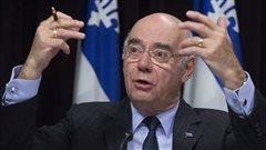 Le ministre des Transports du Québec, Jacques Daoust