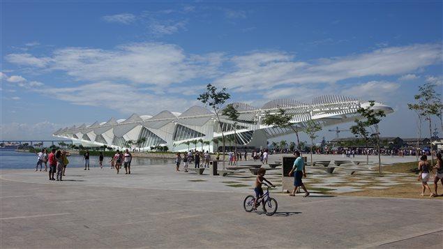 Le Musée de demain, sur la place Maua, à Rio de Janeiro