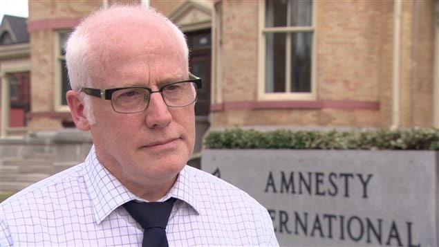 Alex Neve est le secrétaire général d'Amnistie internationale à Ottawa.