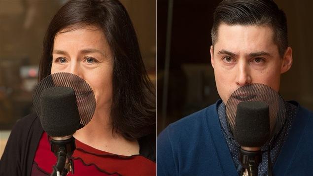 Laure Waridel et Christian Bélair