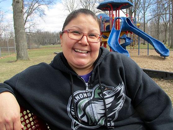 Erica Soney, mère de trois élèves
