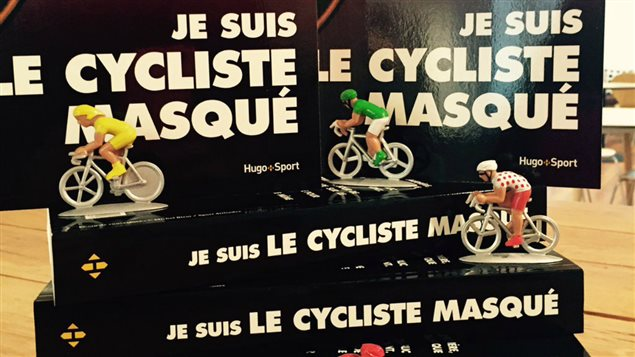 La couverture du livre Je suis le cycliste masqué