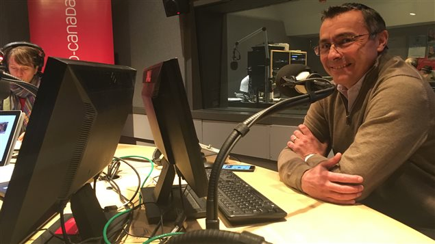 Didier Marsaud, directeur des communications de Nissan Canada, et directeur de projet de la Coupe Nissan Micra