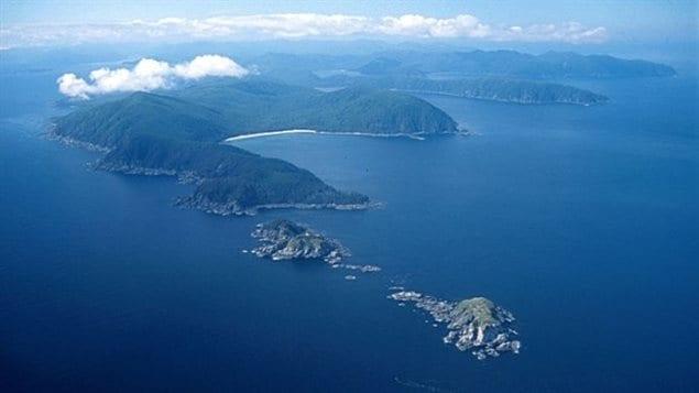 L'archipel canadien de Haida Gwaii, dans l'océan Pacifique. PHOTO : COURTOISIE: ALBERTAN1956.BLOGSPOT.CA