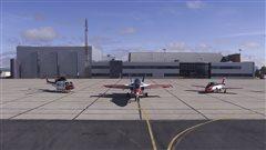 Le Centre d'essais techniques (aérospatiale) à Cold Lake