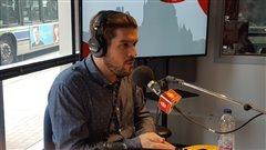 Patrice Plante, porte-parole pour la région de Québec 16e Grande Guignolée des médias