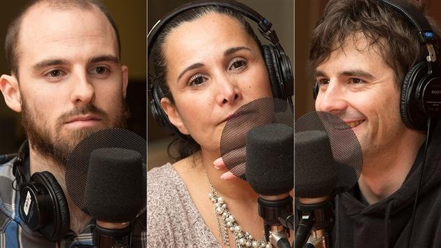 François Renaud, Laurie Betito et Mathieu St-Onge