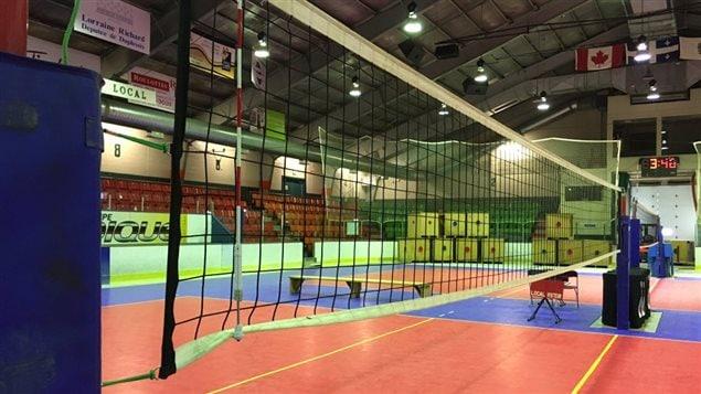Terrain du Tournoi de volleyball Orange