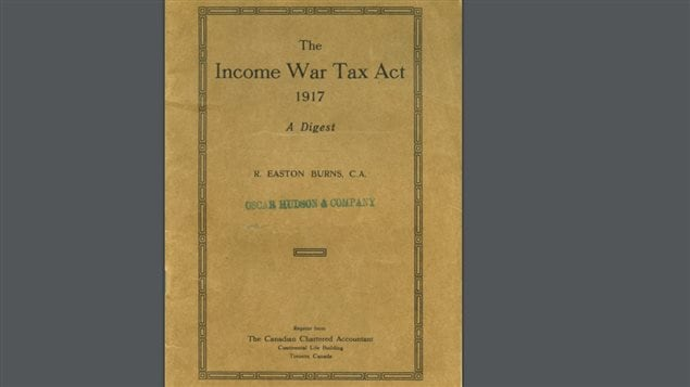 An accountant prepared guide for the *new* tax. Such guides are often long explanations of the new rules. this first *guide* is only 44 pages. The actually tax law in 1917 was eleven pages.
