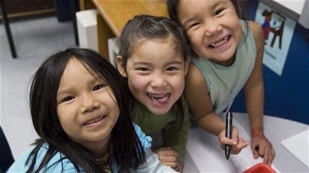 Le Projet d'écoles modèle pour l'alphabétisation de l'Initiative de la famille Martin se sert des vidéoconférences dans les écoles des Premières Nations pour leur permettre d'entrer en contact les unes avec les autres et de communiquer avec des ressources externes afin d'améliorer l'enseignement et l'apprentissage.