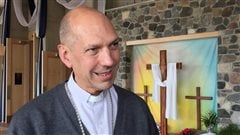 Mgr Donald Bolen, évêque du diocèse de Saskatoon