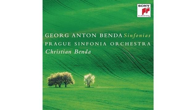 Pochette de l'album <i>Georg Anton Benda : Sinfonias</i> de l'Orchestre symphonique de Prague sous la direction de Christian Benda, paru sous �tiquette Sony Classical
