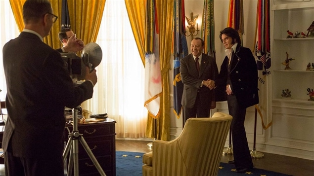 Kevin Spacey et Michael Shannon dans <i>Elvis and Nixon</i>, de Liza Johnson