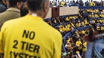 Uber est réglementée à Toronto : la compagnie se dit satisfaite