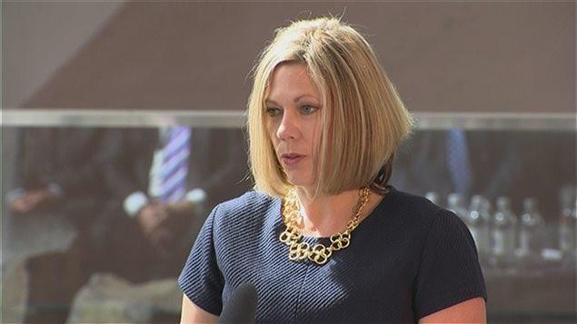 Rochelle Squires, ministre responsable des Affaires franocphones du Manitoba