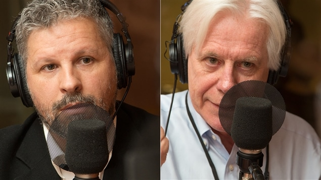 Stéphane Berthomet et Dennis Trudeau