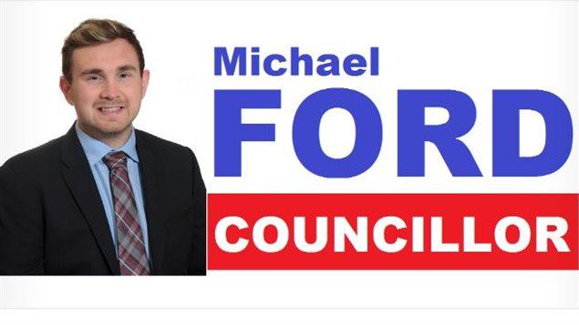 Michael Ford, le neveu de Rob Ford, élu dans Etobicoke Nord comme conseiller municipal