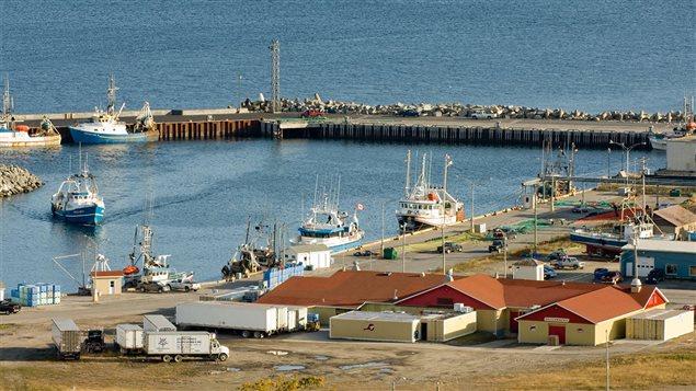 Port de p�che au Qu�bec