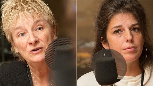 Francine de Montigny et Amélie Sigouin