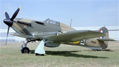 A 1942 produced RCAF Hawker Hurricane from the Canadian Car and Foundry Company. Over 1400 were produced for the Allied war effort.