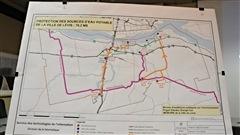 La ville de Lévis a dévoilé le mémoire qu'elle avait préparé pour les audiences publiques du BAPE, concernant le projet d'oléoduc Énergie-Est.
