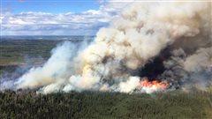 Le feu StoddartRoad, 4 mai 2016.