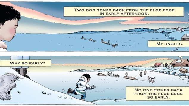 On Waiting, award-winning Inuit author Michael Kusugak (Baseball Bats for Christmas, The Shaman) and landscape artist Susan Thurston Shirley's tale of a poignant and poetic episode from his early life at the edge of the world.