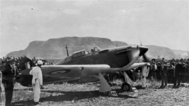 Hawker Hurricane MkI at Canadian Car and Foundry