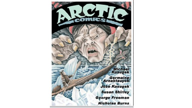 An 88 page full colour anthology of five tales, mixing northern humour, and Inuit culture. Arctic Comics first appeared at Expo 86 and was a big hit. now it's back.