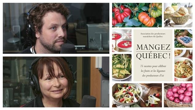 Guillaume Henri et Chantal Cadieux racontent la création du livre Mangez Québec.