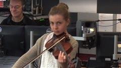 La jeune violoniste de Matane, Émilie Gauthier