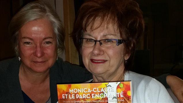 L'auteur Ginette Fournier avec son premier album jeunesse qui sera lancé, officiellement, le 12 mai 2016.