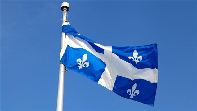 Le drapeau fleurdelisé