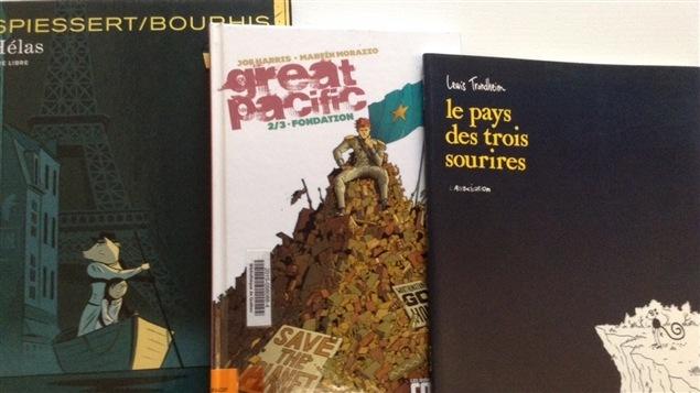 Des bandes dessinées
