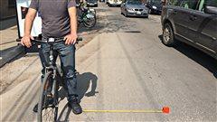Les automobilistes devront désormais observer une distance de 1,5m lorsqu'ils dépassent un cycliste.