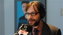Tommy Byrne, vice-président de la Corporation du patrimoine et du tourisme religieux de Québec.