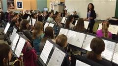 46 élèves de 5e et 6e année de l'école primaire du Bac de St-Lambert-de-Lauzon partent ce matin vers Ottawa pour participer au MusicFest Canada