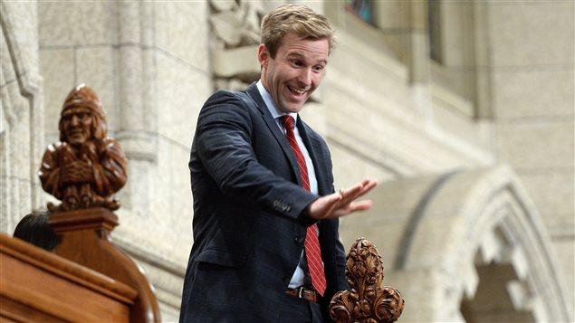 Le premier ministre du Nouveau-Brunswick, Brian Gallant.